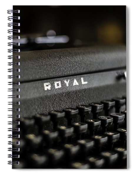Royal Typewriter #19 Spiral Notebook