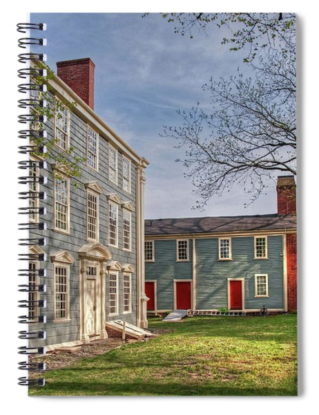 Royall House And Slave Quarters Spiral Notebook