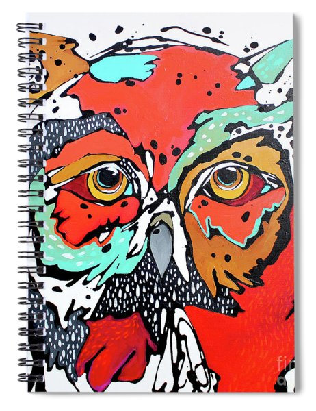 Ruby Two Spiral Notebook