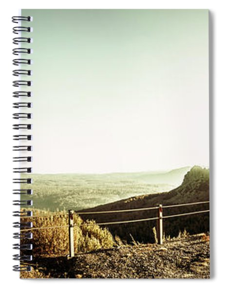 Rugged Mountain Trail Spiral Notebook