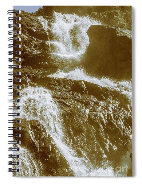 Rugged Water Rapids Spiral Notebook