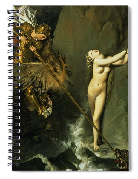 Ruggiero Rescuing Angelica Spiral Notebook
