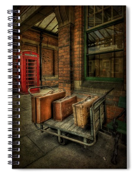 Rules Of Travel Spiral Notebook
