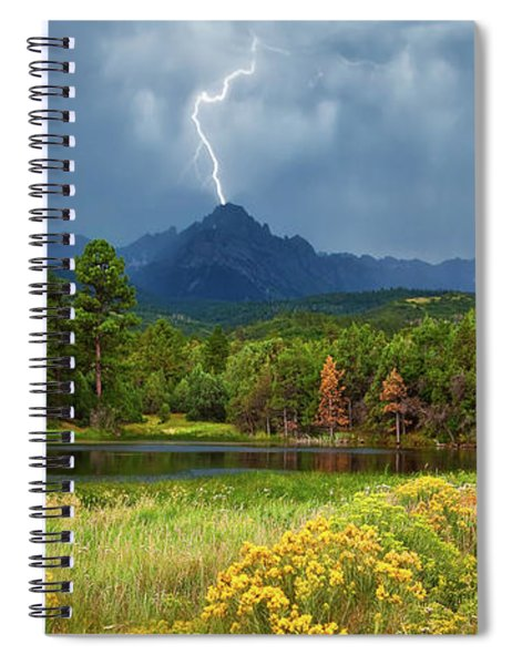 Run For Cover Spiral Notebook