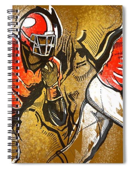 Run It Spiral Notebook