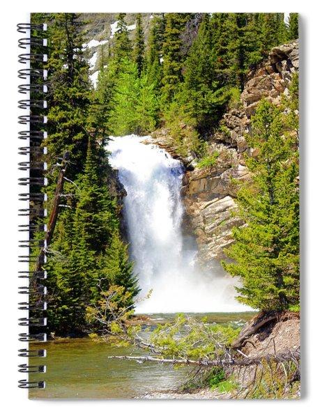Running Eagle Falls Spiral Notebook