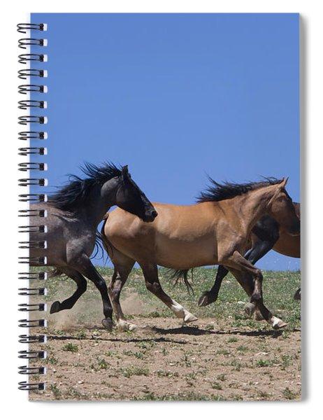 Running Free- Wild Horses Spiral Notebook