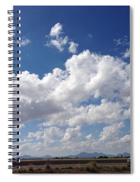 Running Hills Spiral Notebook