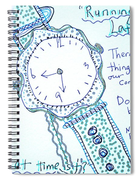 On Time Spiral Notebook