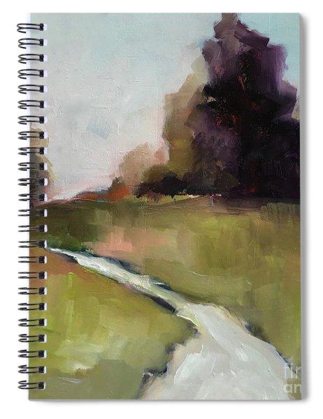 Running Stream Spiral Notebook