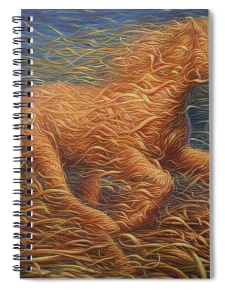 Running Swirly Horse Spiral Notebook