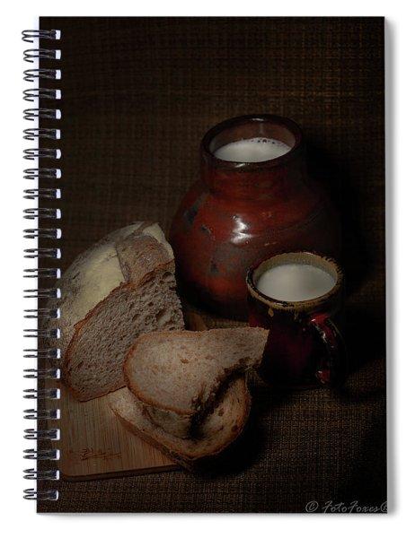 Rural Dinner Spiral Notebook