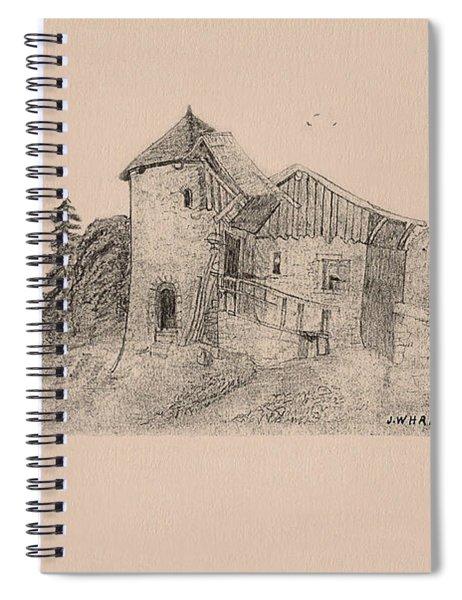 Rural English Dwelling Spiral Notebook