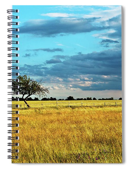 Rural Idyll Poetry Spiral Notebook