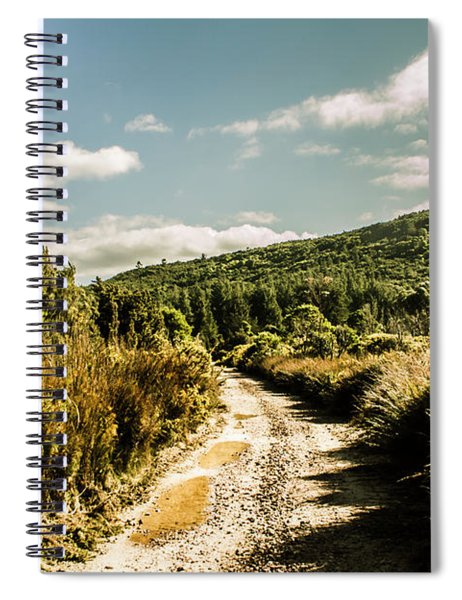 Rural Paths Out Yonder Spiral Notebook