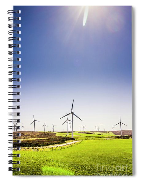 Rural Power Spiral Notebook