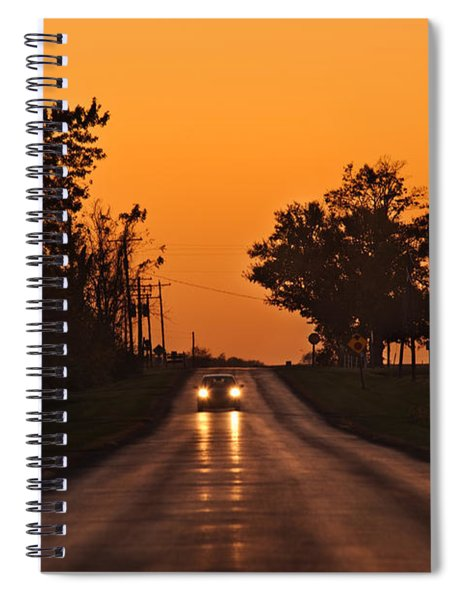 Rural Road Trip Spiral Notebook