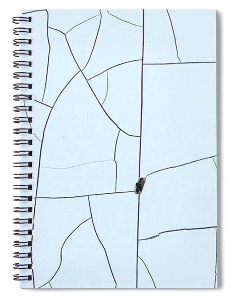 Rural Roads And Snowy Fields From Spiral Notebook