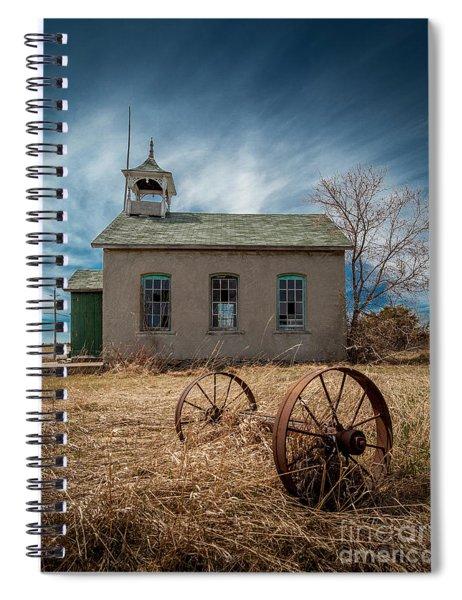 Rural School Spiral Notebook