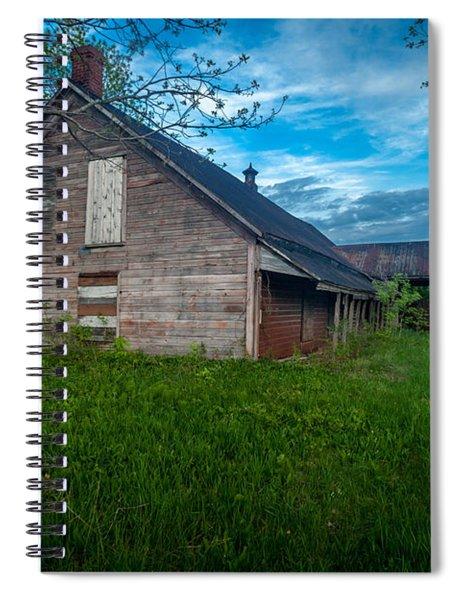 Rural Slaughterhouse Spiral Notebook