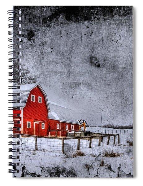 Rural Textures Spiral Notebook