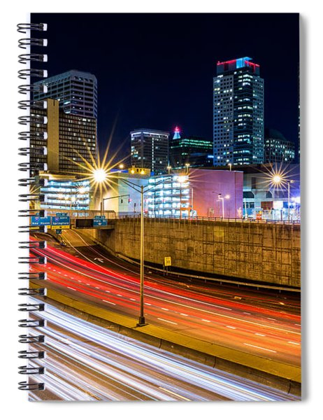 Rush Hour In Hartford, Ct Spiral Notebook