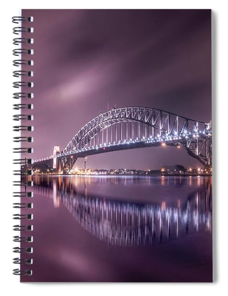 Rush Over Me Spiral Notebook