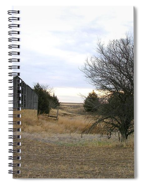 Russell County Barn Spiral Notebook