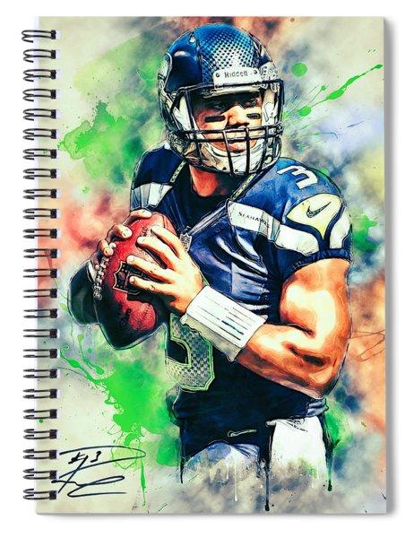 Russell Wilson Spiral Notebook