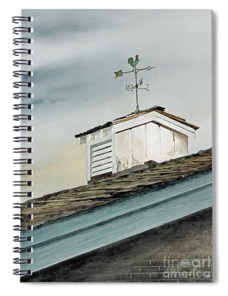 Russels Rooster Spiral Notebook