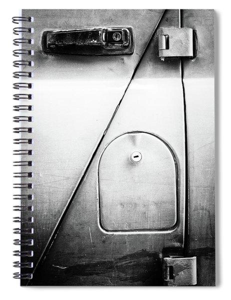 Russian Door And Lock Spiral Notebook