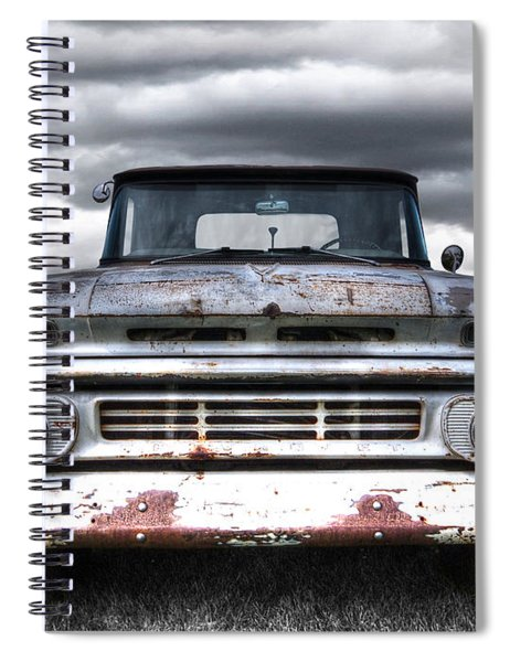 Rust And Proud - 62 Chevy Fleetside Spiral Notebook