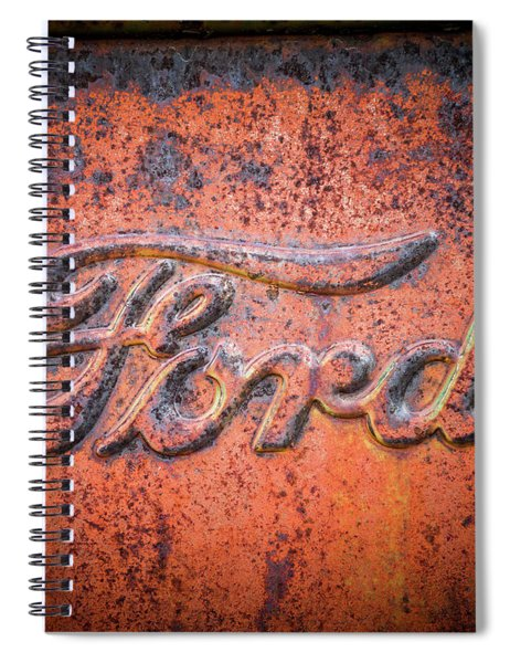 Rust Never Sleeps - Ford Spiral Notebook