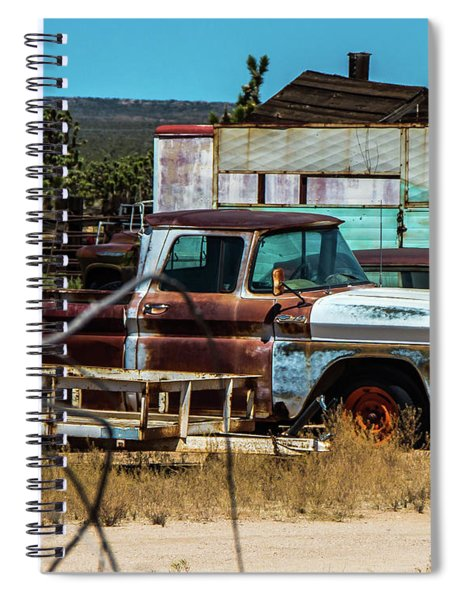Rusted Past Spiral Notebook
