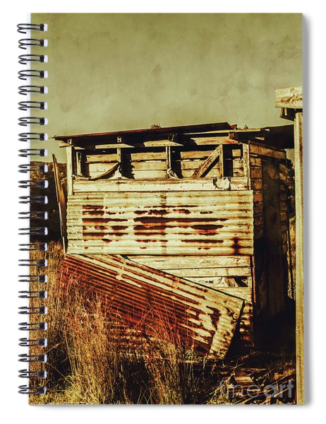Rustic Abandonment Spiral Notebook
