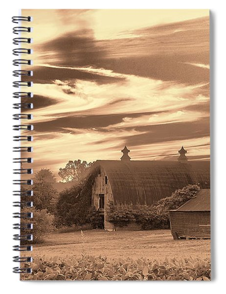 Rustic Barn 2 Spiral Notebook