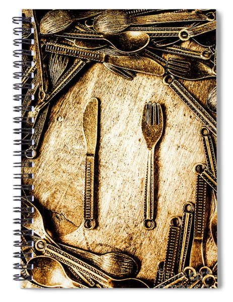 Rustic Catering Spiral Notebook