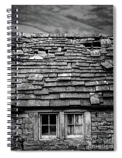 Rustic Cottage Spiral Notebook