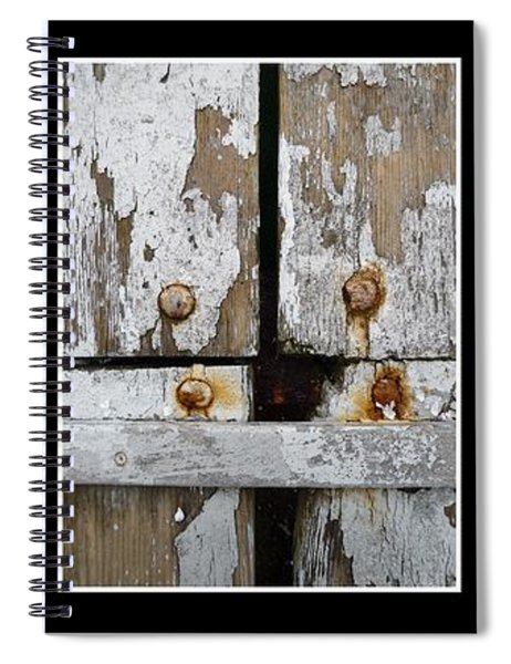 Rustic Elements Spiral Notebook