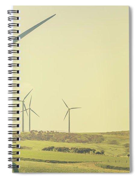Rustic Renewables Spiral Notebook