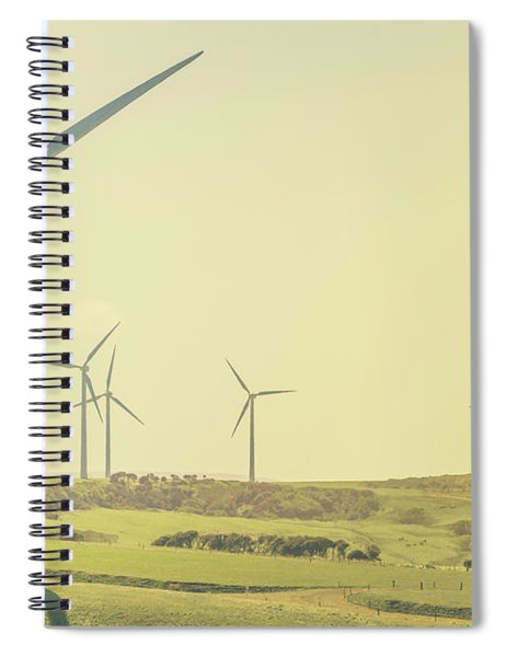 Rustic Renewables Spiral Notebook by Jorgo Photography - Wall Art Gallery