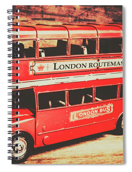 Rustic Routemaster Spiral Notebook