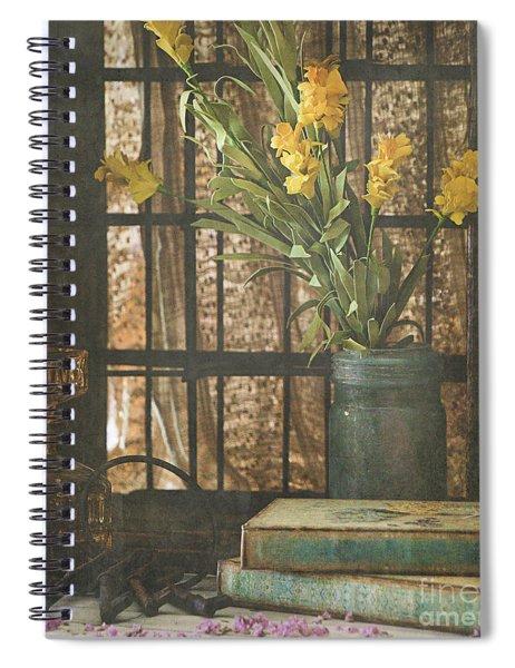 Rustic Still Life 1 Spiral Notebook