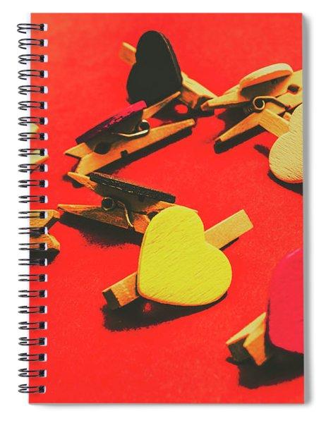 Rustic Still Life Affair Spiral Notebook