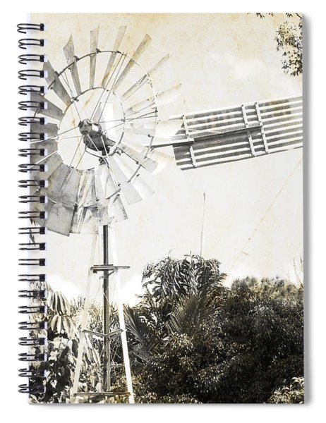 Rustic Weathervane Spiral Notebook