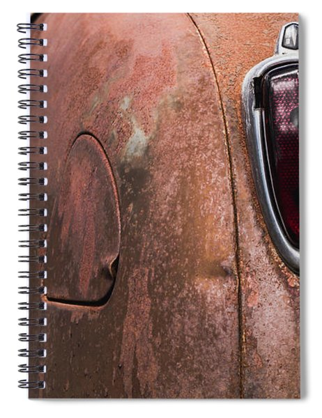Rusting Away Spiral Notebook