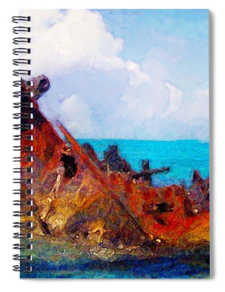 Rusting In Situ Spiral Notebook