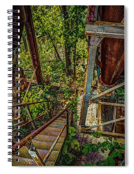Rusty Climb Spiral Notebook