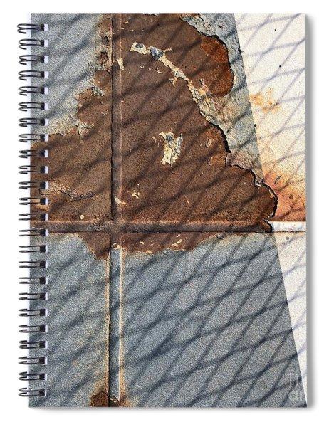 Rusty Cross Spiral Notebook