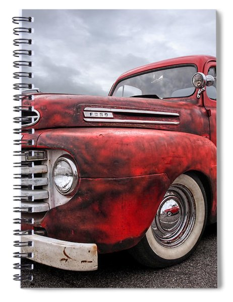 Rusty Jewel - 1948 Ford Spiral Notebook